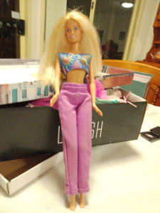 Jewel Girl Barbie Doll