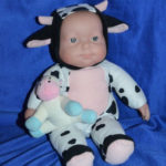 Berenguer Baby in Cow Suit