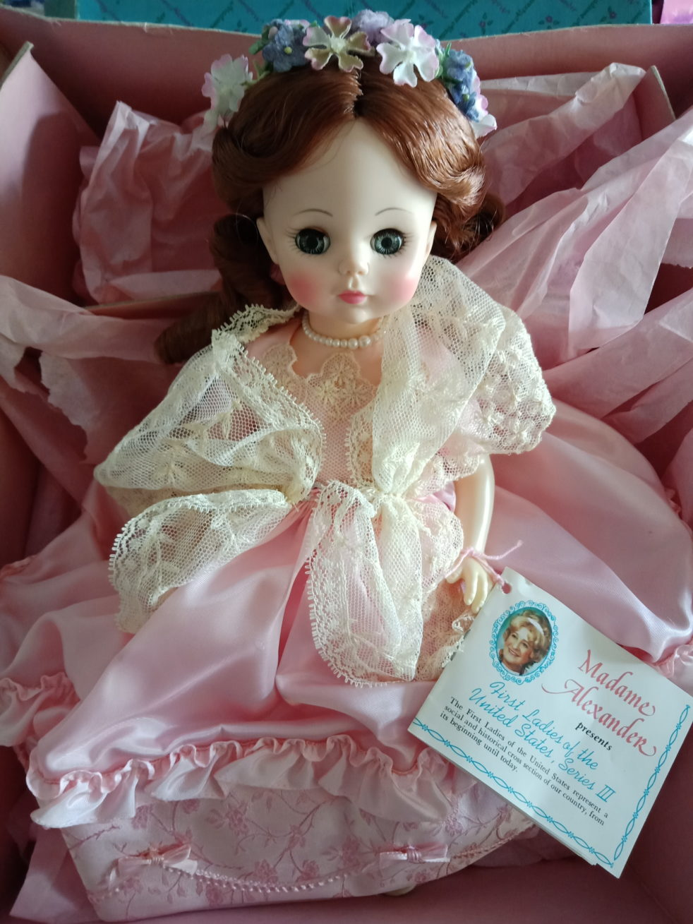 Madame Alexander Doll First Ladies of the United States, Series 3