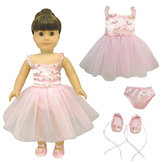 American Girl Doll Clothes Ballet Ballerina Dance Dress