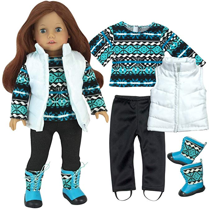 American Girl Doll Clothes Winter Set