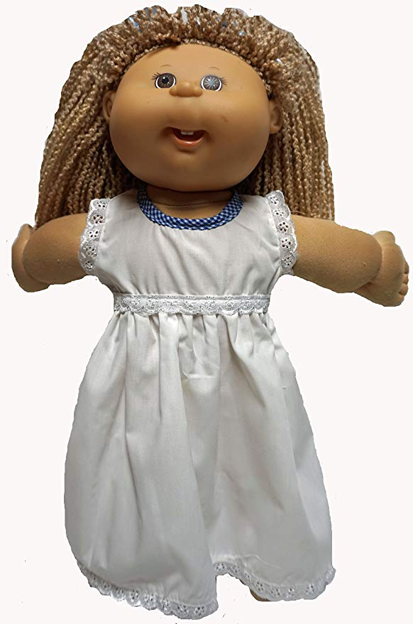 Cabbage Patch Doll Clothe Dress with Pinafore 2